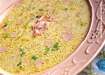 Bernika - mój kulinarny pamiętnik: Duńska zupa z porów