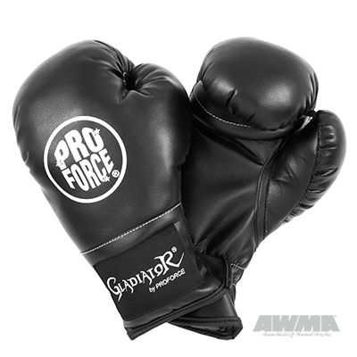 ProForce® Gladiator Kid & Youth Boxing Gloves - Black