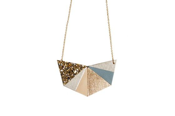 Image of Collier Hexa Or