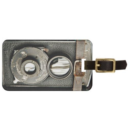 Sold! Plenty more available! Check out: Vintage Camera Luggage Tag #luggagetag #vintage #camera