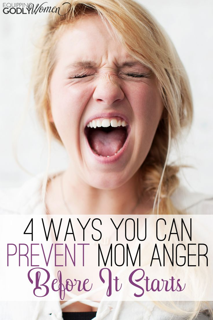 These are some really good tips for preventing mom anger! I've started doing several of these tips and it REALLY helped!