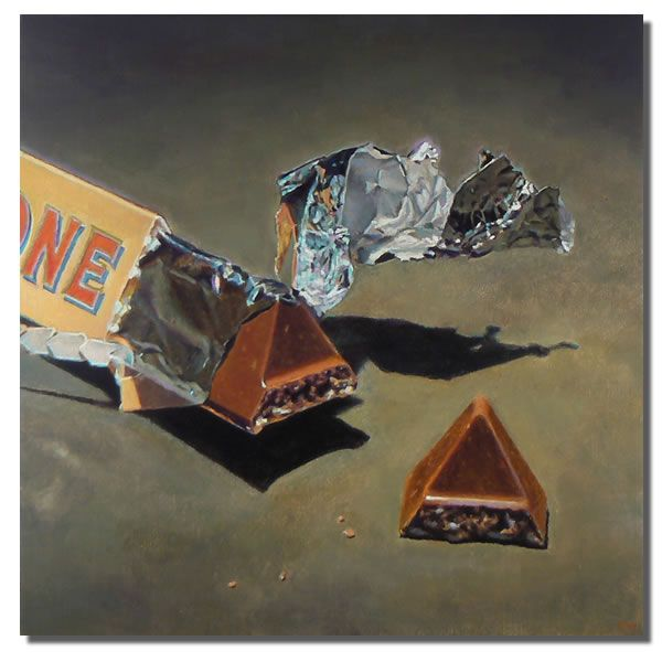 Jeanne Illenye | OIL | Chocolate and Foil