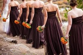 Image result for bridesmaid dresses in fall colors