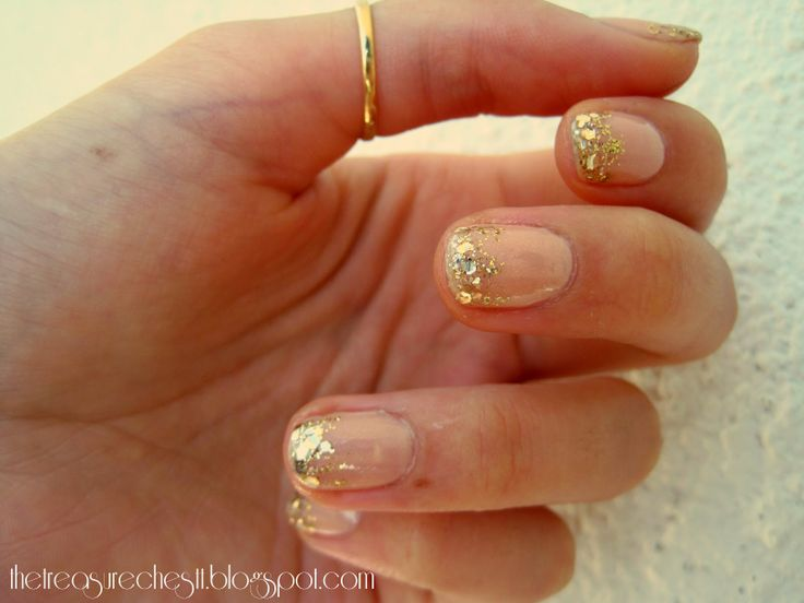 Essie Nail Polish Gold Glitter – Papillon Day Spa