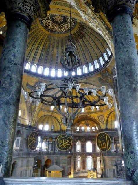 Το Αφηρημένο Blog: Κωνσταντινούπολη – Istanbul, Μέρος 1ο Αγία Σοφία - Ayasofya