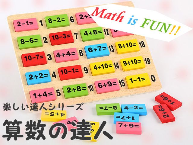 算数の達人知育玩具算数セット