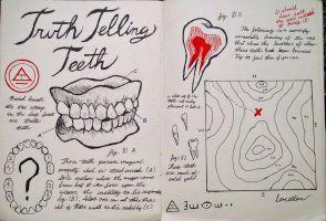 Gravity Falls Journal 3 Replica - Truth Teeth by leoflynn