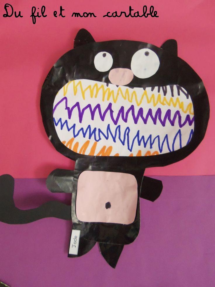Les 117 meilleures images du tableau splat le chat sur pinterest chat maternelle chats et souris - Chat a colorier maternelle ...