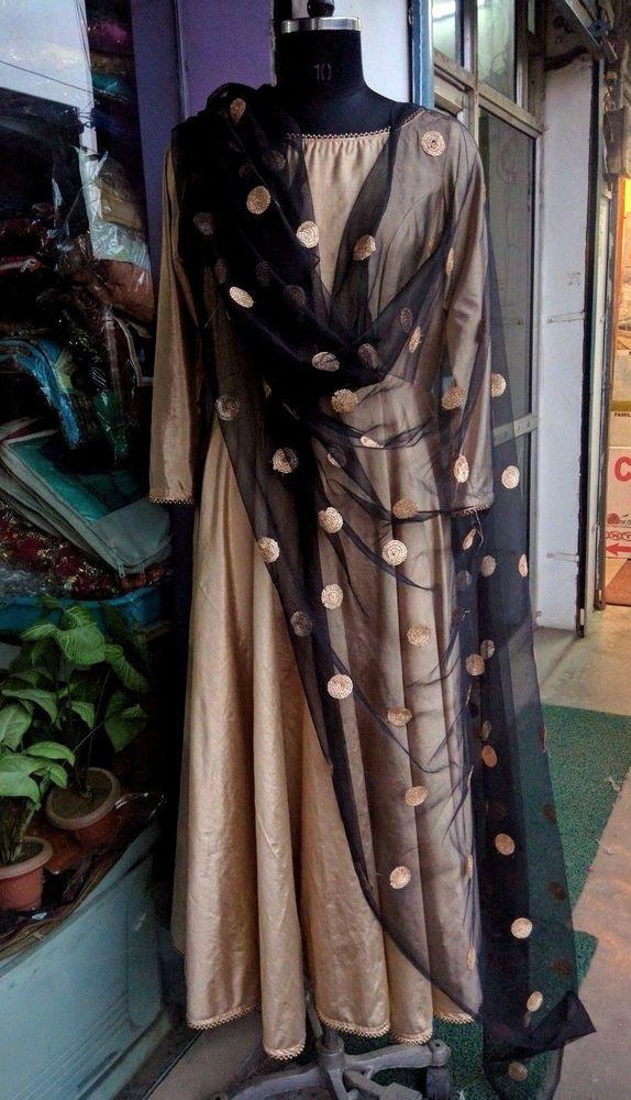 Indian Salwar Kameez Pakistani ladies Wear Party Anarkali Bollywood Dress size L #Handmade #SalwarKameez