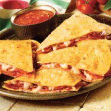 Pizzadilla -- Weight Watchers