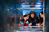 ACK93345.jpg OH JE, DU FRÖHLICHE Unaccompanied Minors USA 2006 Paul Feig QUINN SHEPHARD, DYLLAN CHRISTOPHER, GINA - Stock Photo
