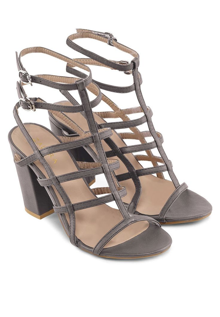 High heels sandals · Zalora Gladiator Heel with Double Ankle Strap www. zalora.com.ph