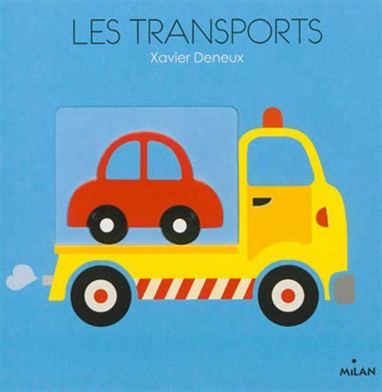 Un album tactile mettant en face-à-face des formes en volumes et des formes en creux pour apprendre les 6 principaux moyens de transports connus des enfants : voiture, train, avion, etc.
