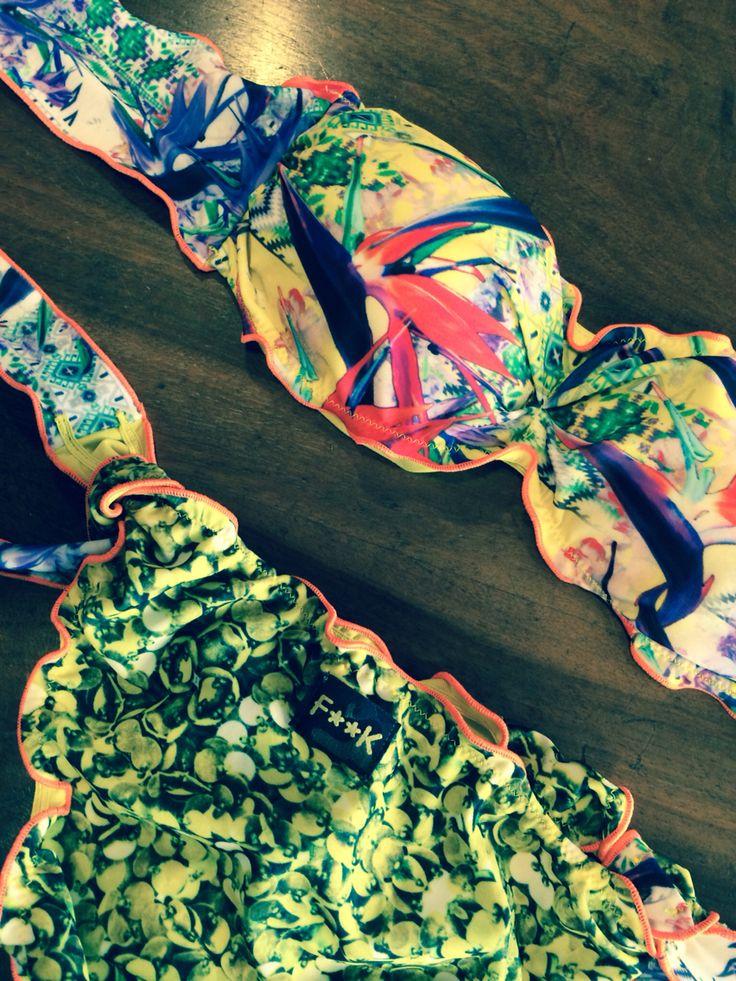 Costume della collezione #effek  #f**k  #2015 .... La moda del #beachwear
