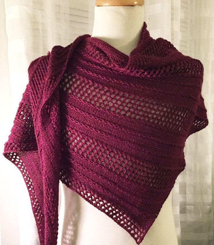 Best 25+ Knit shawl patterns ideas on Pinterest