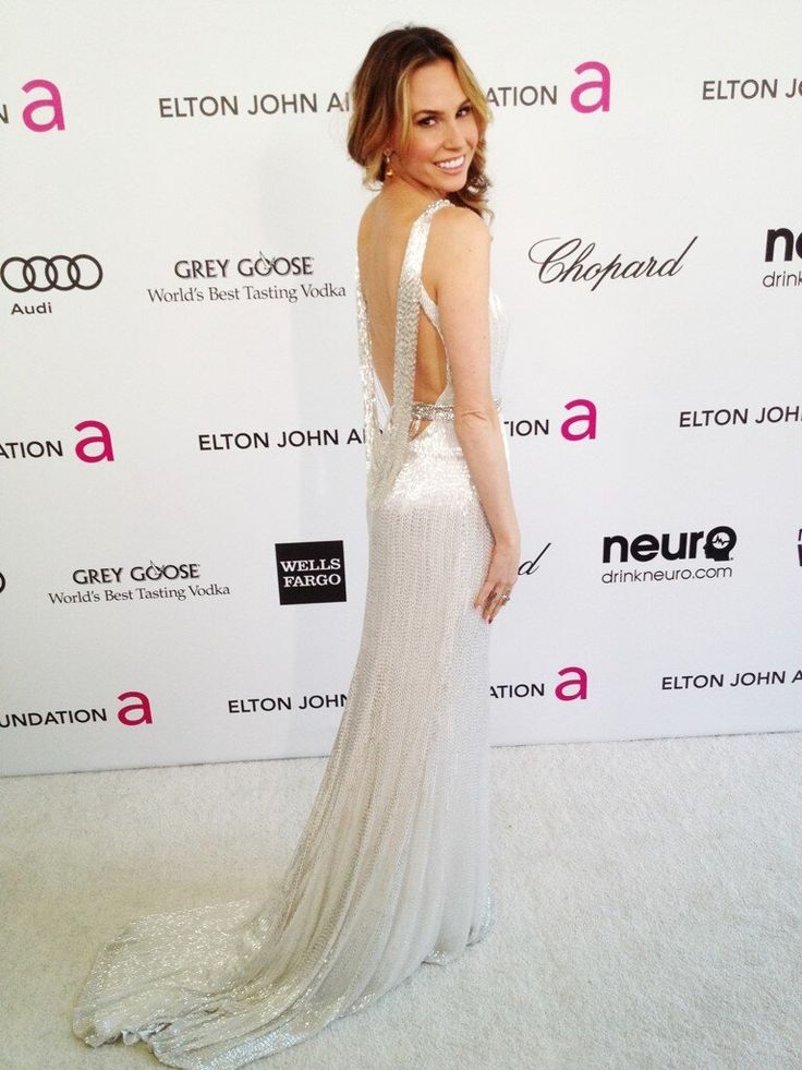 Beautiful Keltie Colleen At The Oscars In Sherri Hill