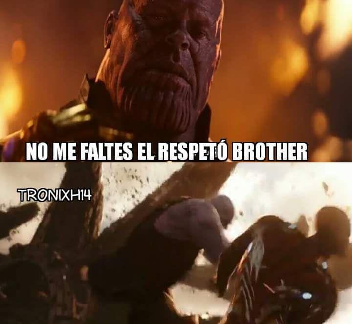 No me faltes el respeto brother