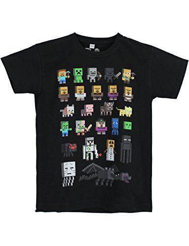 Minecraft Boys' Minecraft Short Sleeved T-shirt - http://www.darrenblogs.com/2017/01/minecraft-boys-minecraft-short-sleeved-t-shirt/