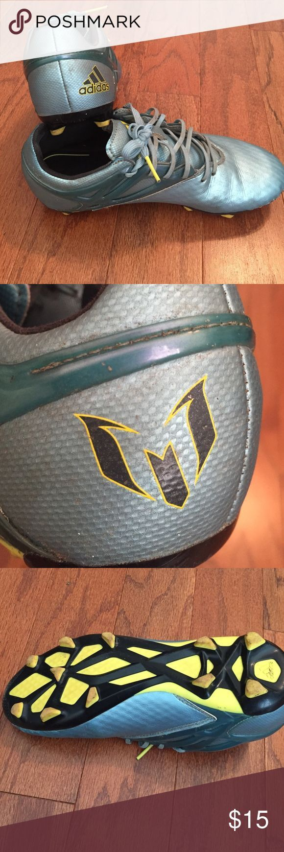 Cool Adidas Shoes Kids soccer cleats Up for sale is a pair of Adidas Messi soccer cleats. Size 3 A... Check more at http://24shopping.ga/fashion/adidas-shoes-kids-soccer-cleats-up-for-sale-is-a-pair-of-adidas-messi-soccer-cleats-size-3-a/