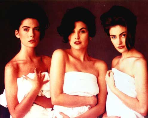 The lovely women of Twin Peaks: Donna Hayward, Audrey Horne, and Shelly Johnson. #twinpeaks