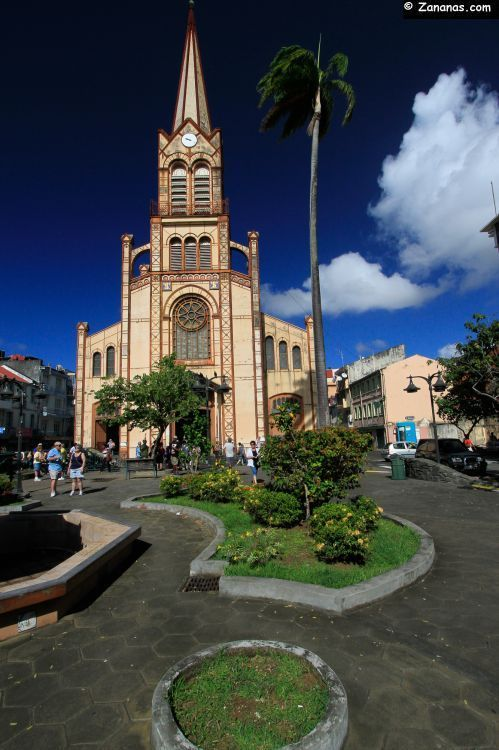 Cathédrale de Fort de France. Martinique.   RePinned by : www.powercouplelife.com