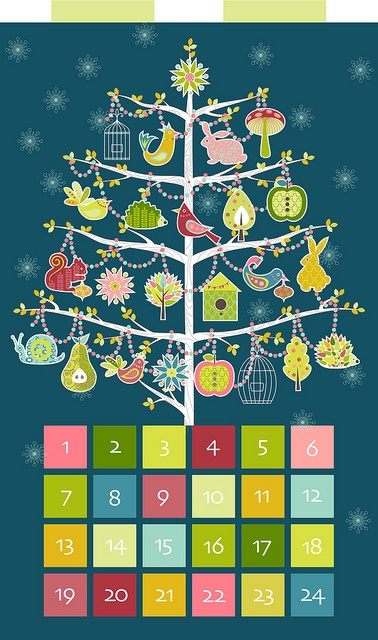 Advent calendar... I would reverse the numbers to count down. Instead of lollies [sweets/candy] I like the idea of having 'gifts' such as a story at bedtime, a trip to the park's play equipment, a special DVD to watch and so on.