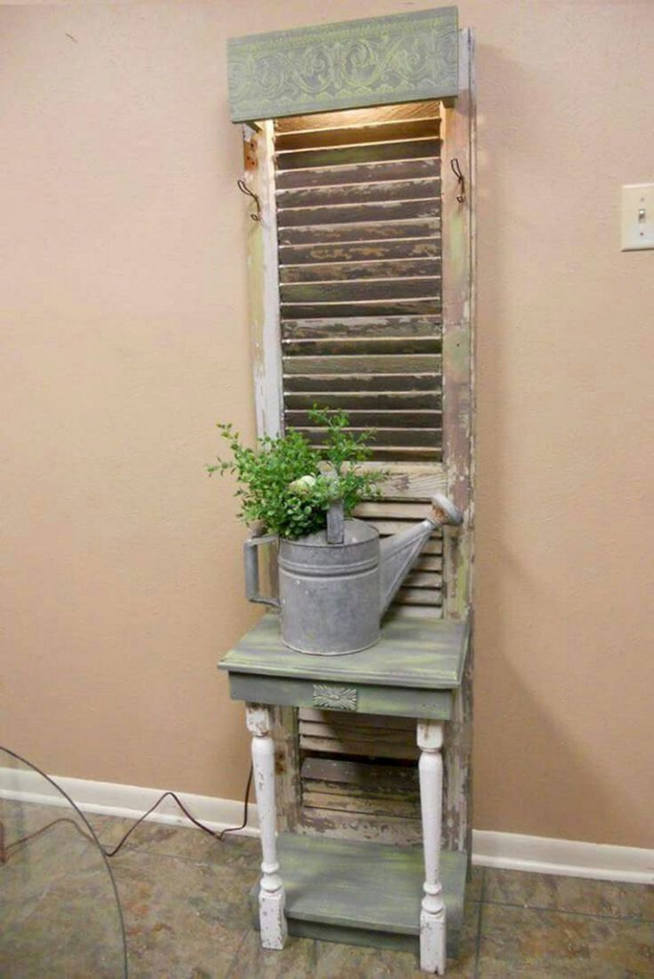 25 Best Rustic Interior Shutters Ideas On Pinterest