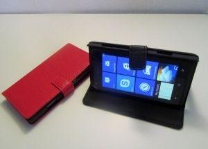 Nokia Lumia 928 taittuva nahkakotelo