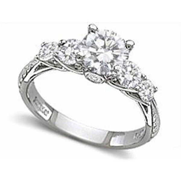 Wedding rings diamond  Top 25+ best Diamond wedding rings ideas on Pinterest | White gold ...