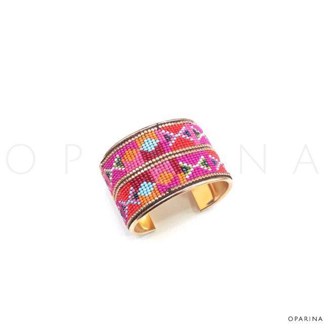 Pulsera Multicolor Etnica en Oparina. #oparina #ethnic #etnico #boho #bohemian #gypsy #hippie   #madewithstudio
