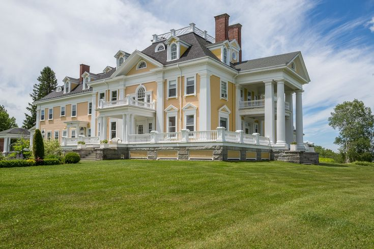 A Stately 35-Room Mansion in Burke, Vermont, Is on the Market for $4.5 Million