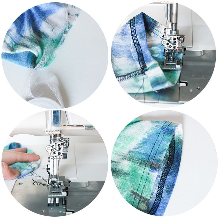 Serger and Coverstitch Techniques One Little Minute Blog Coverstitch Hem Serger and Coverstitch Techniques with the Baby Lock Diana // Stret...