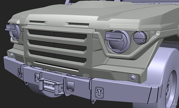 Armored Tactical Vehicle LTA Scorpion on Behance