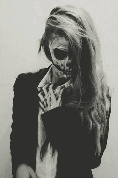 i'll just be the creepy skeleton chick for halloween. walk up and down the street and just scare the shit outta some kids.