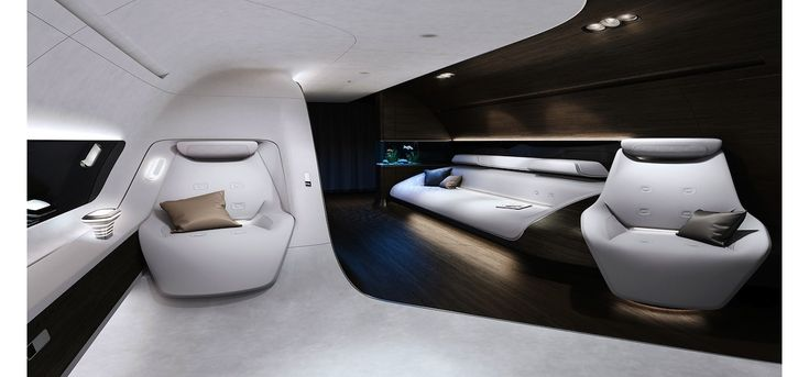 Mercedes-Benz, la branche luxe du constructeur automobile, s'allie à la compagnie aérienne Lufthansa le temps de recréer la cabine VIP. Bon voyage.