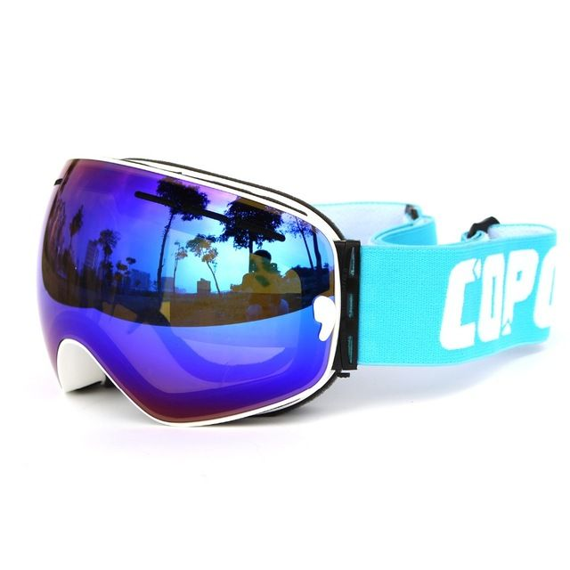 【 $21.52 & Free Shipping / Coupons 】COPOZZ brand goggles double UV400 anti-fog big mask glasses skiing men women snowboard GOG-201 | worth buying on AliExpress