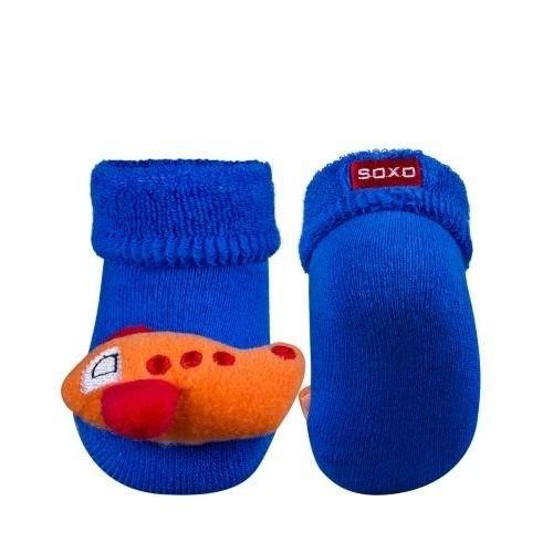 SOXO Infant socks with rattle (terry) | BABIES \ Socks | SOXO socks, slippers, ballerina, tights online shop