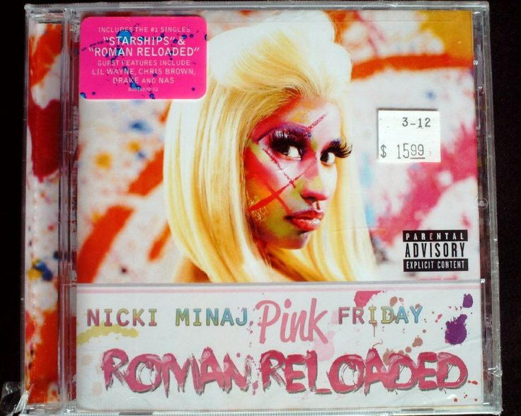 New Nicki Minaj - Pink Friday Roman Reloaded Explicit USA CD SEALED
