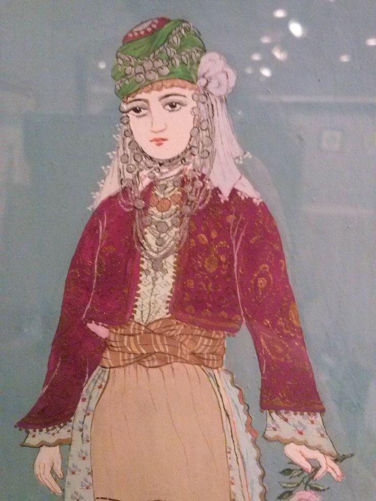 Ömer Faruk Atabek - Germencik kıyafeti - detay