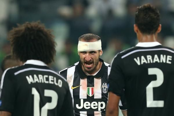 Juventus vs Real Madrid 2-1                    Chellini & Marcelo, Varane
