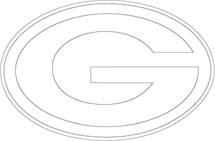 Green Bay Packers Logo Green Bay Packers Logo Green Bay Packers Colors Football Coloring Pages