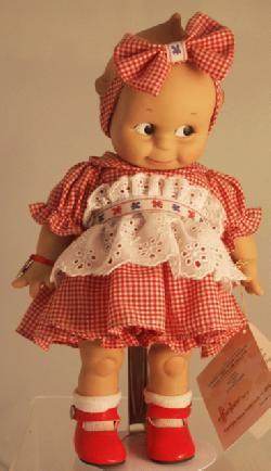 Effanbee Vinyl Kewpie Doll - Special 2000 Edition