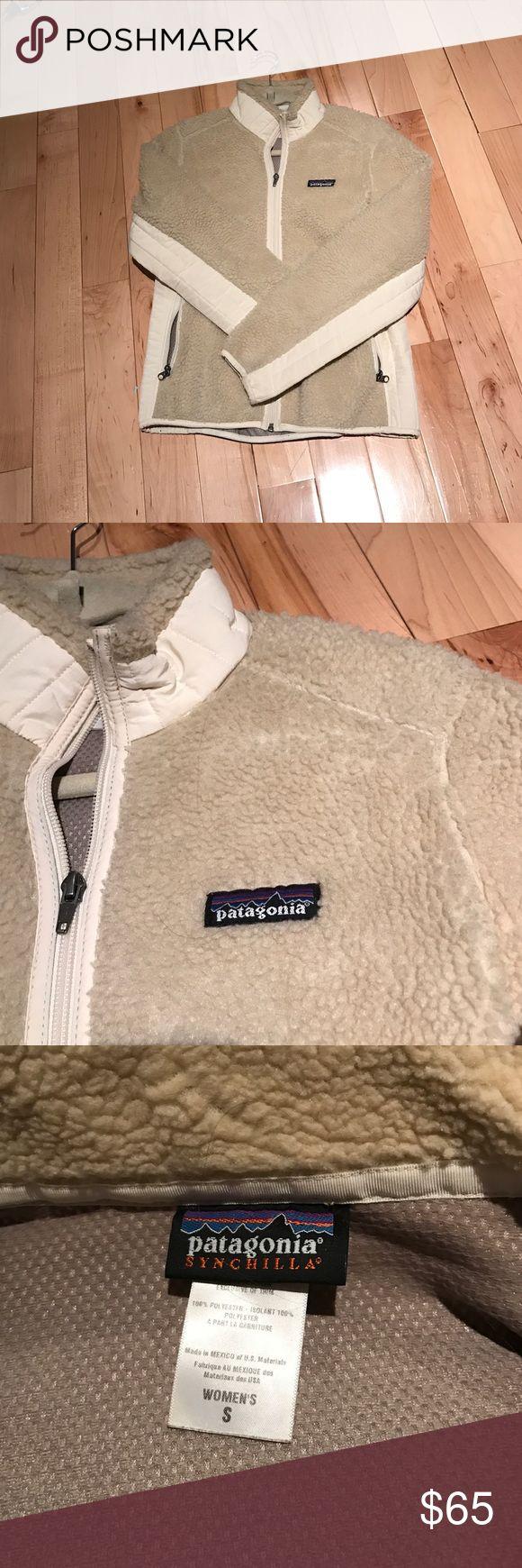Patagonia Synchilla Jacket Small beige Patagonia Synchilla Jacket Patagonia Jackets & Coats