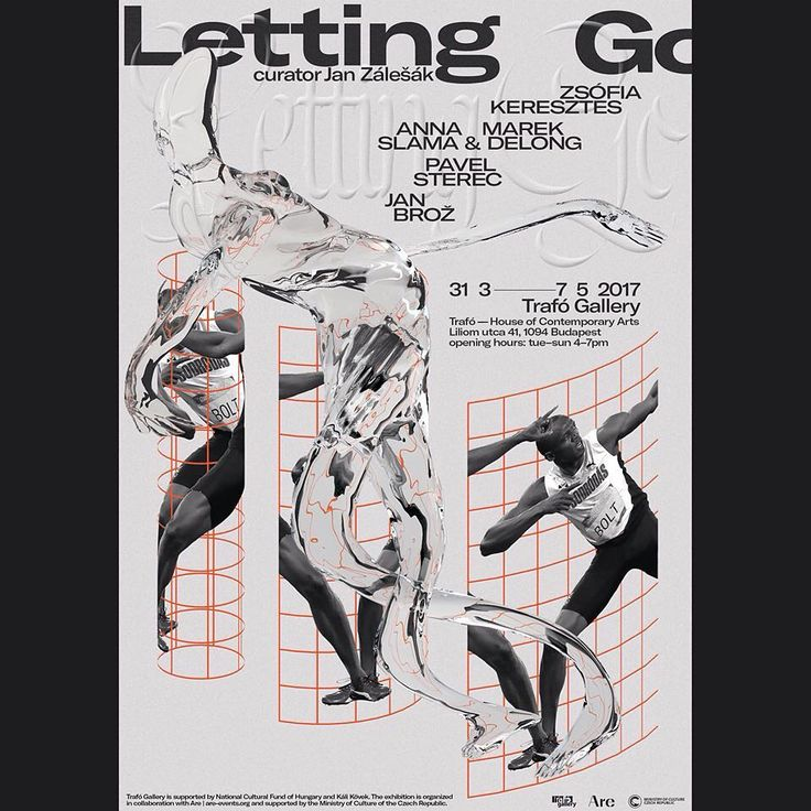 #poster for exhibition Letting Go in Budapest, this thursday 🙃  #graphicdesign