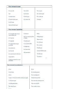 Les principaux mots de liaison en francais3