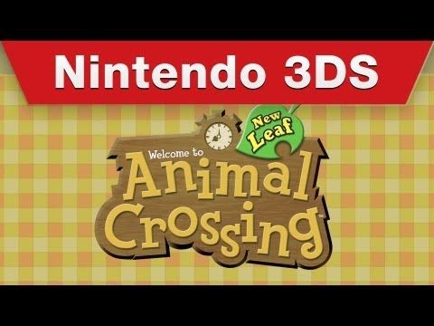 Nintendo 3DS - Animal Crossing: New Leaf Trailer I want this soooo bad!