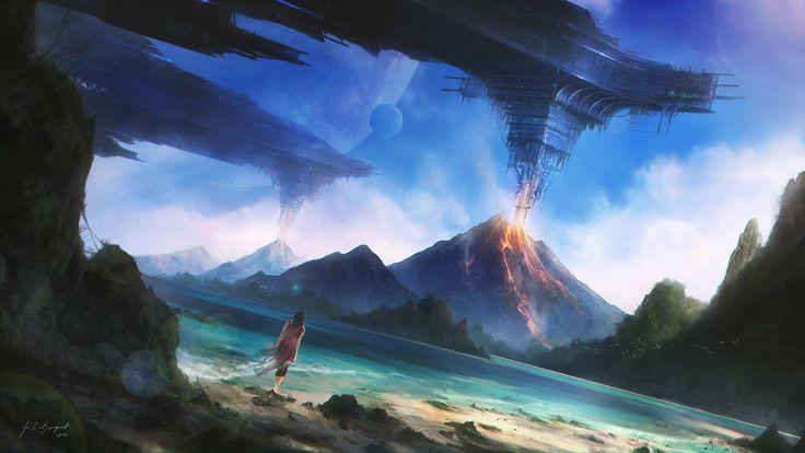 Digital Fantasy Paintings by Juan Carlos Barquet