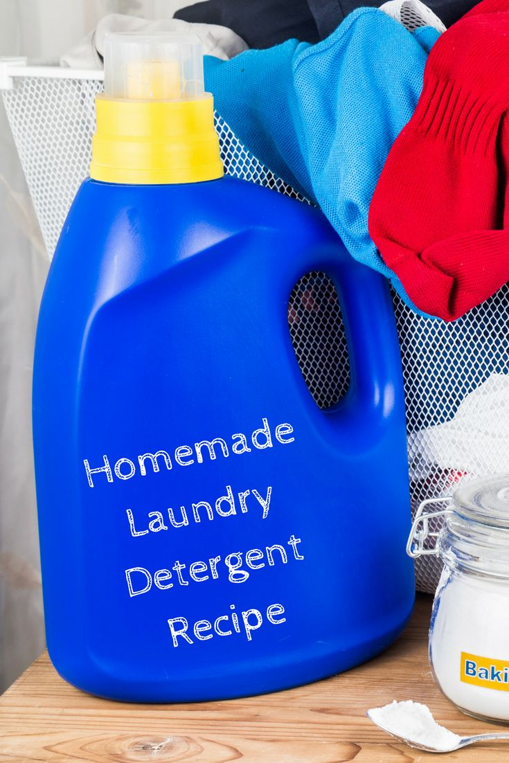 A quick and easy recipe for all-natural laundry detergent that will make your clothes smell great!