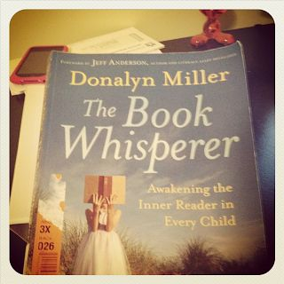 The Book Whisperer, I've been wanting to read this for awhile now!