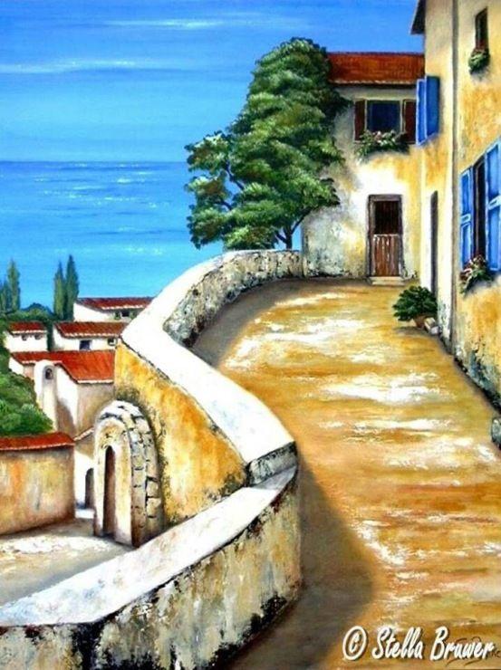 - Stella Bruwer - I love her work... and she's from St Helena Bay, Western Cape SA. A